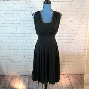NWT WHBM black strapless convertible dress